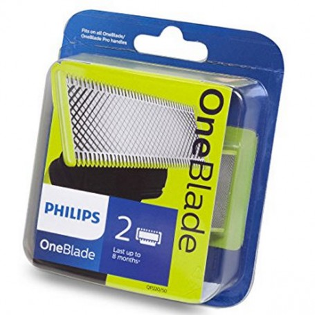 Lame per Rasoio da Barba Philips ONEBLADE (2 pcs)