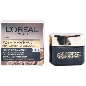 Crema Giorno Nutritiva Age Perfect L'Oreal Make Up Spf 15 (50 ml)