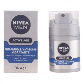 Crema Antirughe Men Active Age Nivea
