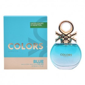 Profumo Donna Colors Blue Benetton EDT (50 ml)