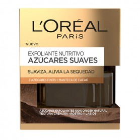 Nahrhaftes Peeling Azúcares Suaves L'Oreal Make Up (50 ml)