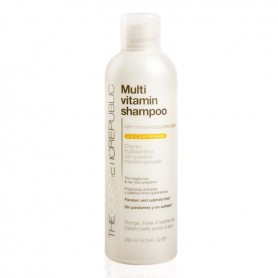 Shampoo Rivitalizzante Multi-vitamin The Cosmetic Republic (200 ml)