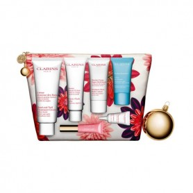 Cofanetto Cosmetica Donna Les Indispensables Week-end Essentials Clarins (7 pcs)