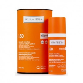 Fluido Solare Antimacchie Protect-adapt System Bella Aurora SPF 50+ (50 ml)