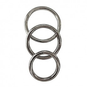 Anello Fallico Metallico (3 pz) Manbound SS950-18