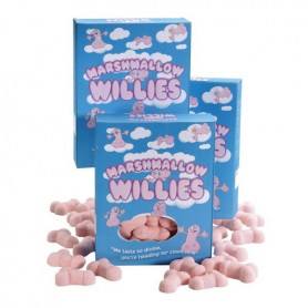 Marshmallow a Forma di Pene Spencer & Fleetwood 7731900000 (140 g)