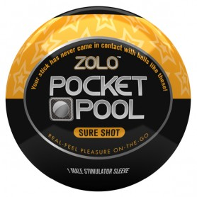 Masturbatore Pocket Pool Sure Shot Zolo ZOLOPPSS