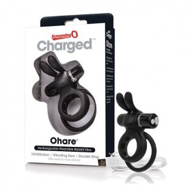 Vibratore Rabbit Charged Ohare Nero The Screaming O 12518