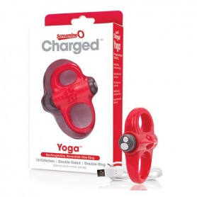 Anello Vibrante Charged Yoga Rosso The Screaming O SCYVVR