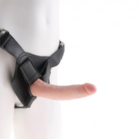 Imbracatura Strap-On con Pene 7 Inch Cock Carne King Cock 61261