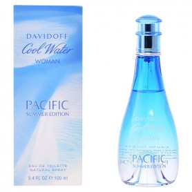 Profumo Donna Cool Water Woman Pacific Summer Edition Davidoff EDT