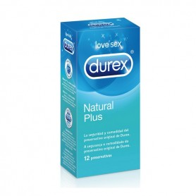 Preservativi Natural Plus Durex (12 Unità)