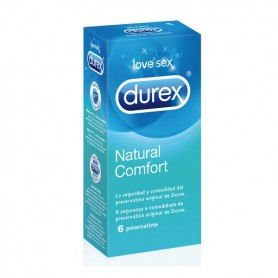 Preservativi Natural Plus Durex (6 Unità)