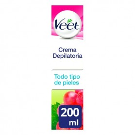 Crema Depilatoria Natural Inspirations Veet 200 ml