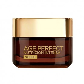Crema Notte Antirughe Age Perfect L'Oreal Make Up (50 ml)