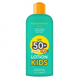 Crema Solare Kids Swim & Play Mediterraneo Sun SPF 50 (200 ml)