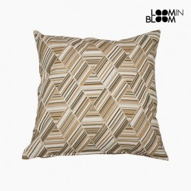 Cuscino Cotone e poliestere Beige (60 x 60 x 10 cm) by Loom In Bloom