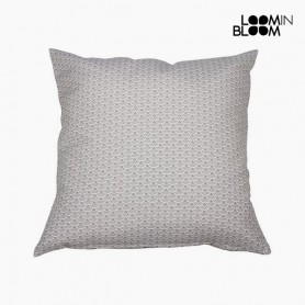 Cuscino Cotone e poliestere Grigio (60 x 60 x 10 cm) by Loom In Bloom