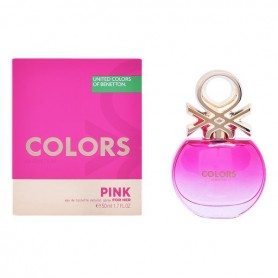 Profumo Donna Colors Pink Benetton EDT (50 ml)