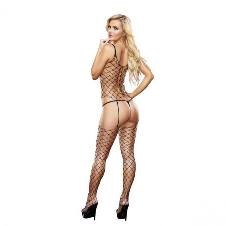 Bodystocking Fencenet Lapdance Nero