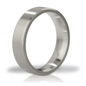 Anello Fallico in Metallo Duke Brushed Steel Love Mystim