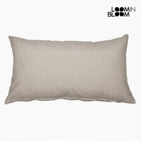 Cuscino Cotone e poliestere Beige (30 x 50 x 10 cm) by Loom In Bloom