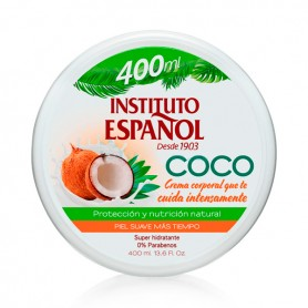 Crema Corpo Coco Instituto Español (400 ml)