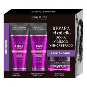 Set per Capelli Unisex Frizz-ease Recovery John Frieda (3 pcs)