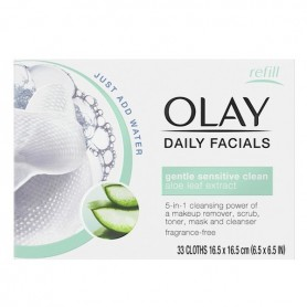 Salviette Struccanti Cleanse Daily Facials Micellar Olay (30 pcs) Pelle secca