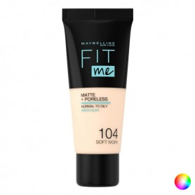 Base per Trucco Fluida Fit Me! Maybelline (30 ml)