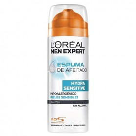 Schiuma da Barba Men Expert Hydra Sensitive L'Oreal Make Up (200 ml)