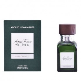 Profumo Uomo Agua Fresca Vetiver Adolfo Dominguez EDT (60 ml)