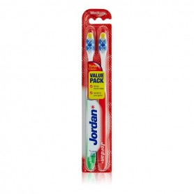 Spazzolino da Denti Total Clean Medium Jordan (2 uds)