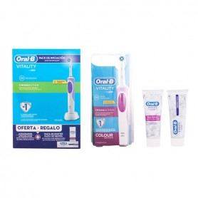 Set di Igiene Dentale Vitality Crossaction Oral-B (3 pcs)