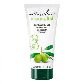 Esfoliante Viso Olive Naturalium (200 ml)
