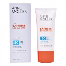 Latte Solare Fluido Express Double Care Anne Möller Spf 50 (50 ml)